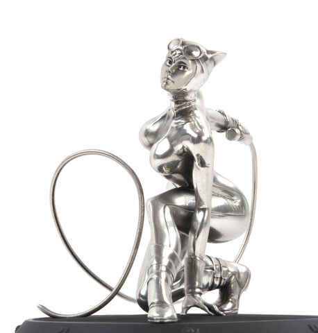 Statuette Royal Selangor - DC Comics - Pewter Collectible Catwoman 1/12