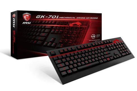 Clavier Gaming MSI GK-701 - Cherry Mx Brown