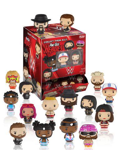 Figurine Mystère - WWE - Catcheurs Superstars miniatures