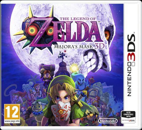 Zelda Majora Mask Soft Bundle + Figurine