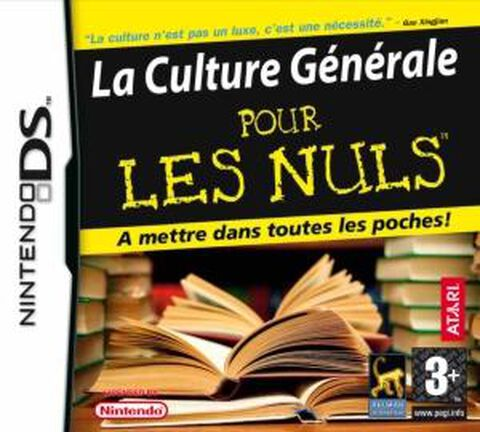 La Culture Generale, Pour Les Nuls