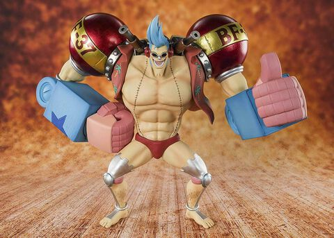 Figurine Tamashii Nations - One Piece - Zero Cyborg Franky - Bonus