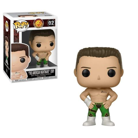 Figurine Funko Pop! N°02 - Wrestling - Bullet Club Cody