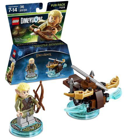 Figurine Lego Dimensions Legolas - Le Seigneur Des Anneaux