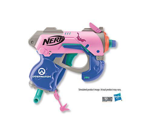 Nerf - Overwatch Microshots - D Va