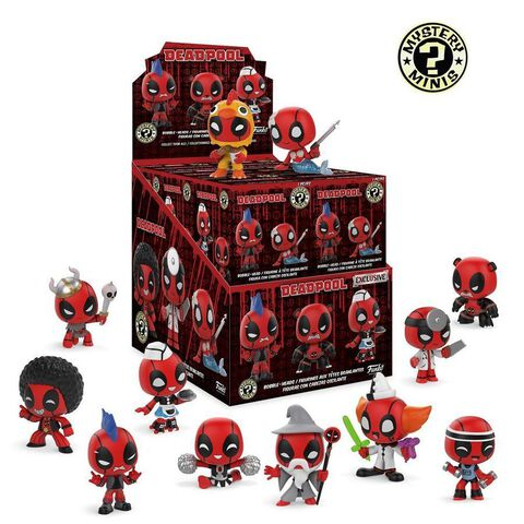 Figurine Mystère - Deadpool - Playtime Assortiment - Exclusivité Micromania-Zing