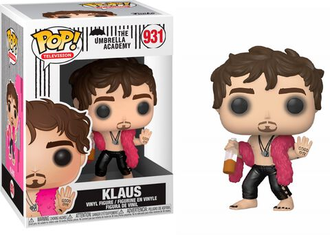 Figurine Funko Pop! N°931 - Umbrella Academy - Klaus Hargreeves