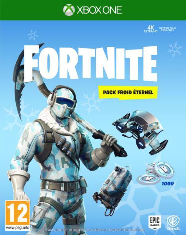 Fortnite Pack Froid Eternel