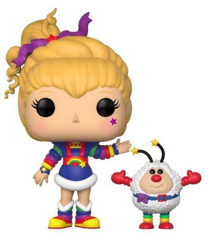 Figurine Funko Pop! N°380 - Blondine Au Pays De L'arc-en-ciel - Blondine Et Peti