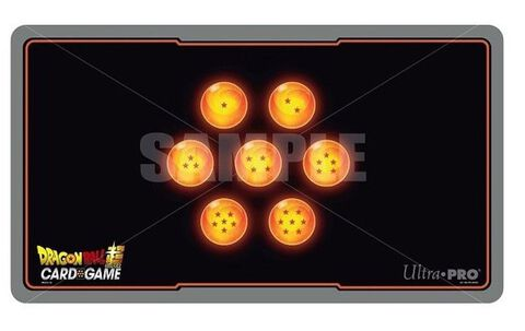 Tapis De Jeu - Dragon Ball Super - Boules De Cristal + Tube