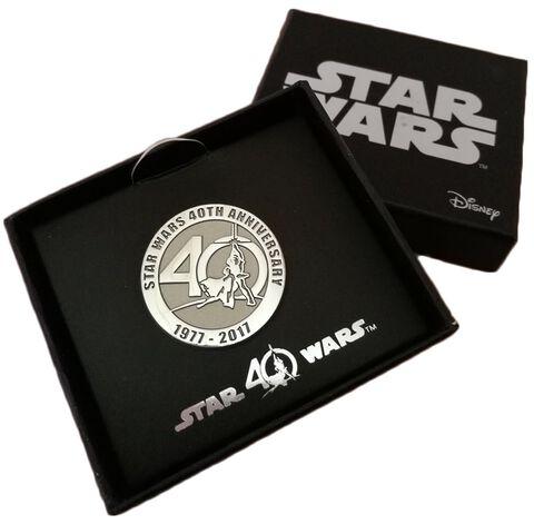 Badge - Star Wars - 40 ans