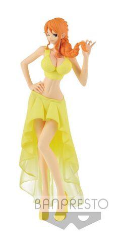 Figurine Lady Edge - One Piece - Wedding-nami (jaune)