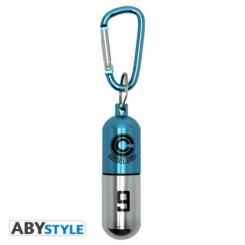 Porte-clés - Dragon Ball - Capsule Aluminium