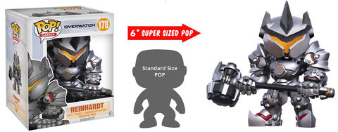 Figurine Funko Pop! N°178 - Overwatch - Reinhardt - 15 cm