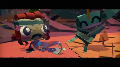 Tearaway Unfolded - Messenger Edition