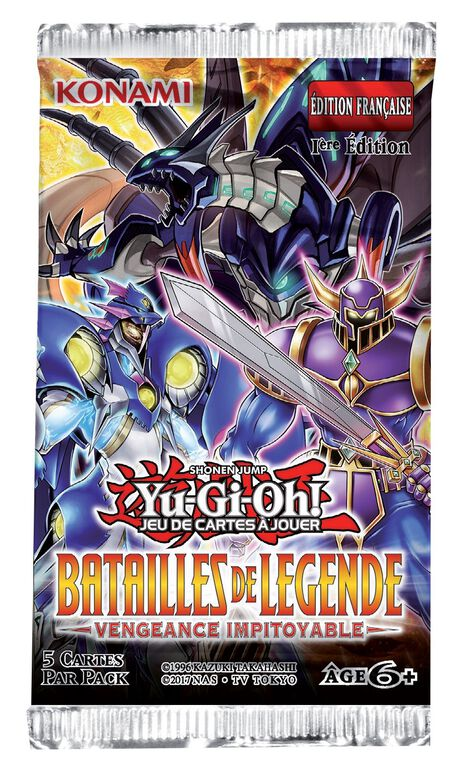 Booster - Yu-Gi-Oh! - Batailles de Légende : Revanche Impitoyable