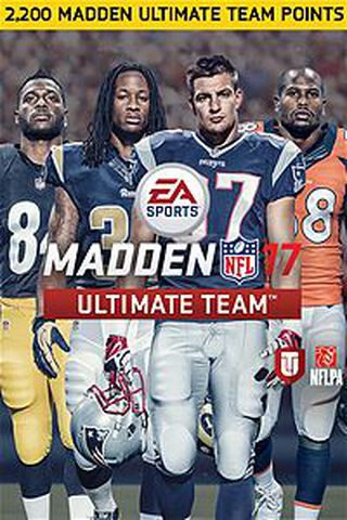 DLC - Madden NFL 17 - Pack de 2200 points Madden Ultimate Team - Xbox One