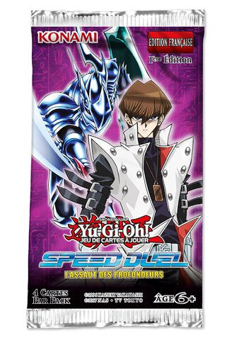 Booster - Yu-gi-oh! Jcc - Speed Duel Attaque Aquatique