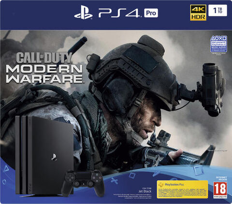 Pack Ps4 Pro 1to Noire + Cod Modern Warfare IV