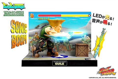 Figurine - Street Fighter - Diorama T.n.c. 04 Guile