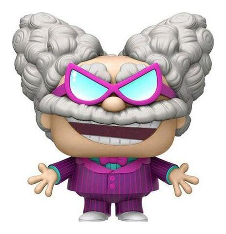 Figurine Funko Pop! N°427 - Captain Underpants - Prof. Poopypants Violet