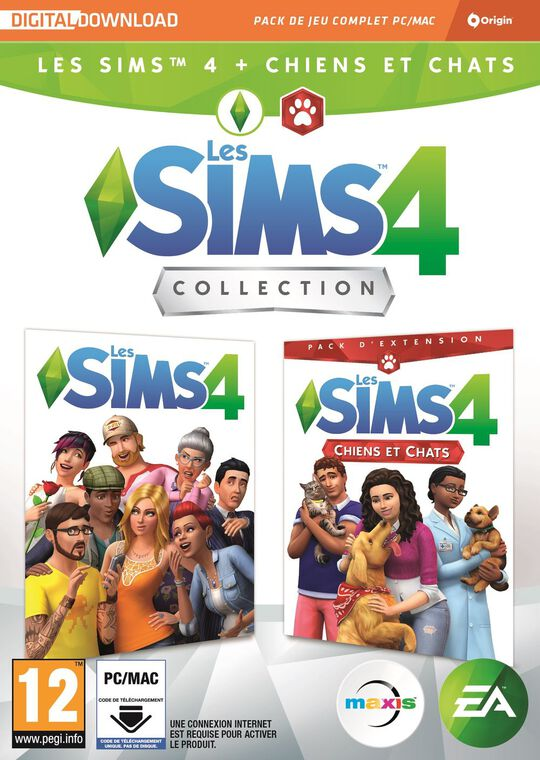 Les Sims 4 Deluxe Edition + Chiens & Chats