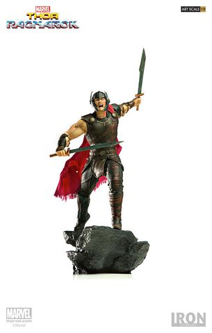 Statuette Iron Studios - Thor Ragnarok - Thor Bds Art Scale 1/10