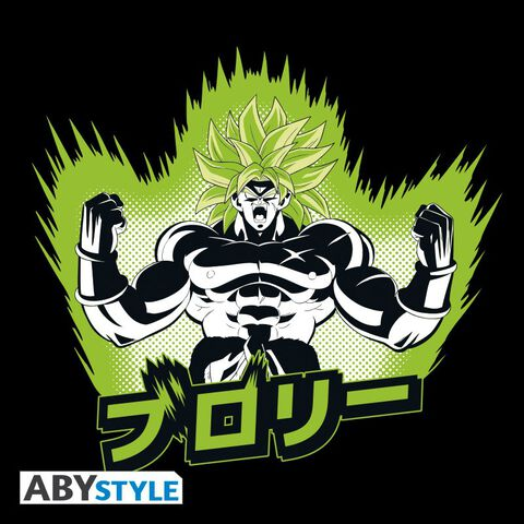 T-shirt - Dragon Ball Super : Broly - Broly Noir - Taille L