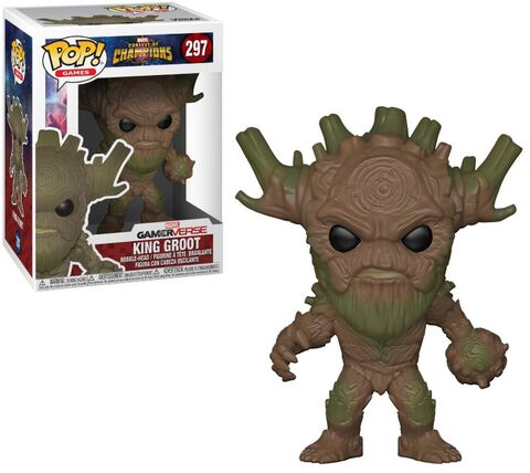 Figurine Funko Pop! N°297 - Marvel Tournoi des Champions - King Groot