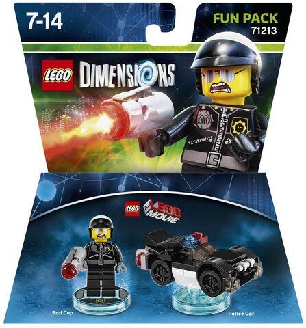 Figurine Lego Dimensions Mechant Flic - La Grande Aventure Lego