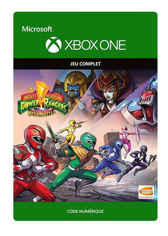 Power Rangers Mega Battle - Jeu complet - Version digitale