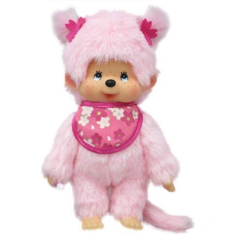 Peluche - Monchhichi - Kiki Pinky 20 Cm