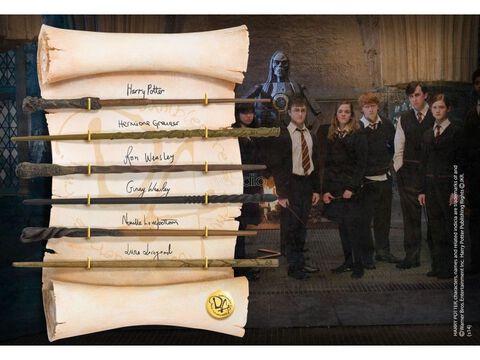 Réplique - Harry Potter - Set de Baguettes Magiques Armée de Dumbledore