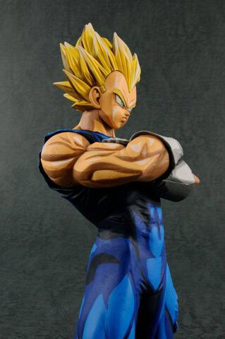 Figurine - Dragon Ball Z - Grandista Super Saiyan Vegeta Manga Dimensions