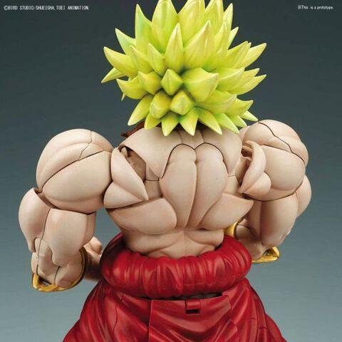 Figurine à monter Figure-rise - Dragon Ball Super - Super Saiyan Broly 20 cm