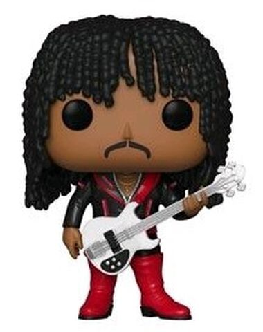 Figurine Funko Pop! N°100 - Rock - Rick James Superfreak