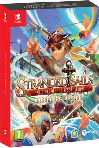 Stranded Sails Explorers Of The Cursed Islands Edition Signature (exclusivité Mi