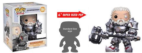 Figurine Funko Pop! N°184 - Overwatch - Reinhardt - 15 cm
