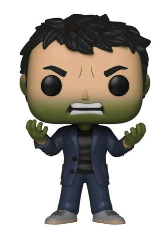Figurine Funko Pop! N°419 - Avengers Marvel Infinity War - Série 2 Banner et tête de Hulk