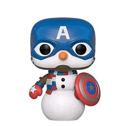 Figurine Funko Pop! N°532 - Marvel Holiday - Captain America