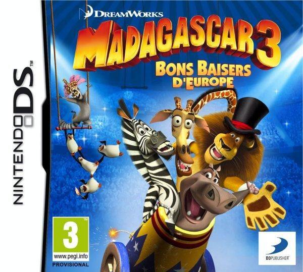 Madagascar 3 - Nintendo DS
