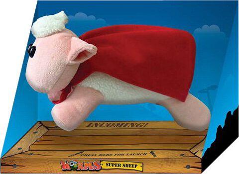 Peluche sonore - Worms - Super Mouton