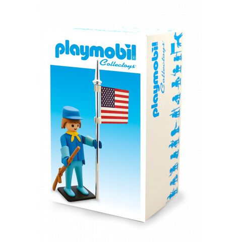 Playmobil - Vintage de collection - Le cavalier américain