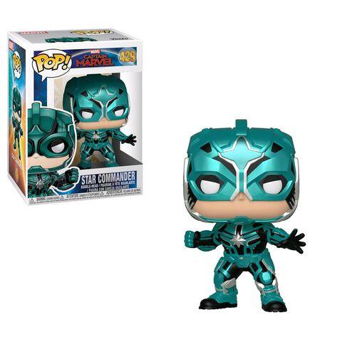 Figurine Funko Pop! N°429 - Captain Marvel - Star Commander