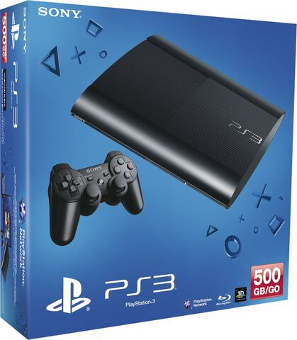 PlayStation 3 500 Go Noire