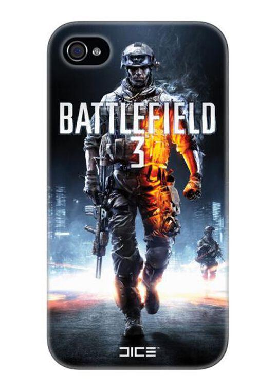 Coque Iphone 4/4s Battlefield 3 + écran De Protection