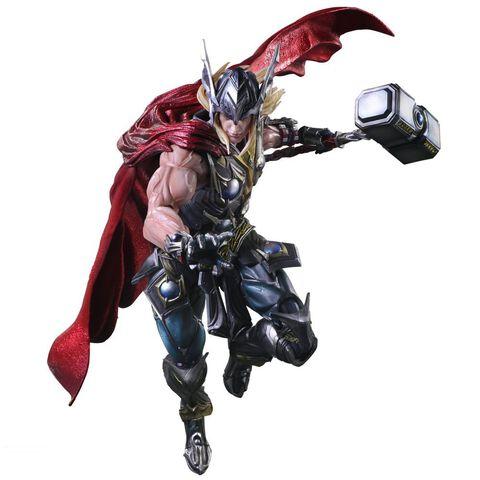 Figurine - Marvel Comics - Variant Play Arts Kai - Thor 27 Cm