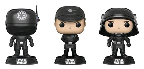 Figurine Funko Pop! 3 Pack - Star Wars - Trooper, Tireur et Officier
