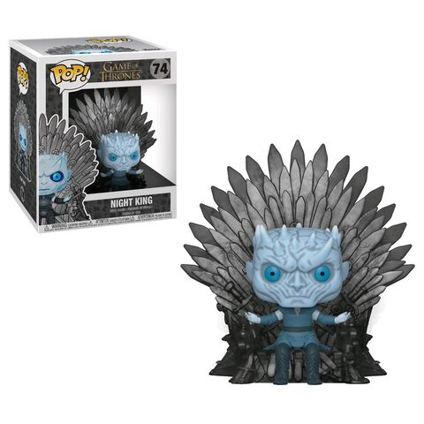 Figurine Funko Pop! N°74 - Game of Thrones S10 - Night King assis sur le trône