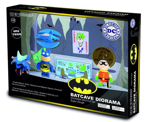 Pâte à Modeler - DC Comics - The Batcave